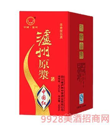 泸州原浆酒中国红