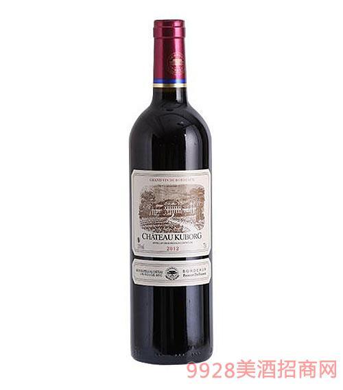 法国赤霞珠干红葡萄酒2012 750ml