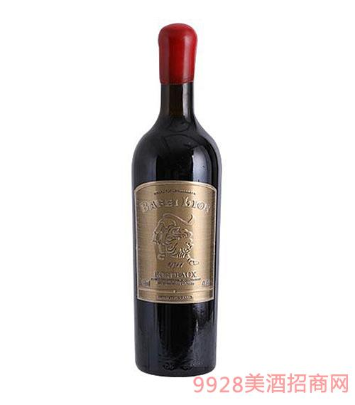 法国巴菲狮特选干红葡萄酒750ml