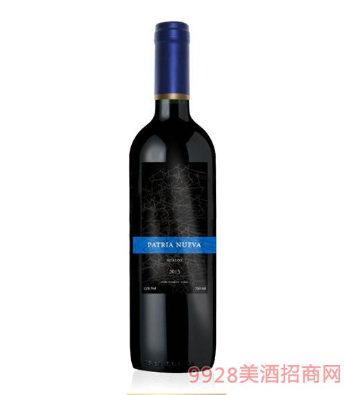 智利库里科斯山谷帕杰尼梅洛干红葡萄酒13度750ml