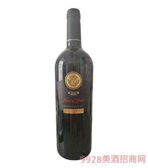 意大利普里米蒂沃干红葡萄酒2016