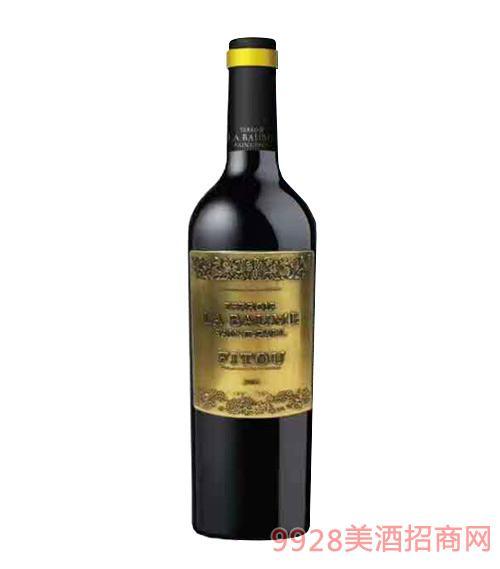 法国波美度菲图干红葡萄酒13.5度750ml