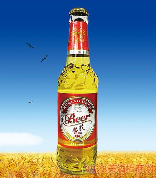 达人苦荞啤酒500ml