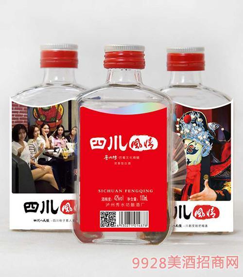 四川风情小酒42度100mlx12x2提/箱