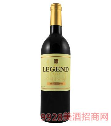 美国加州传奇小西拉红葡萄酒