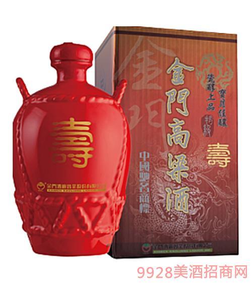 红坛金门特级高粱酒-寿