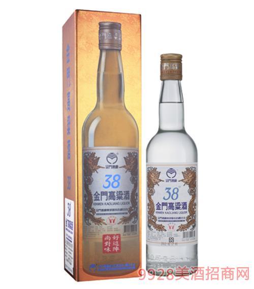 38度金门高粱酒0.3L