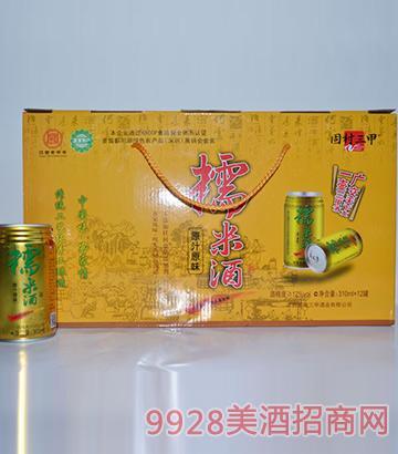 固村三甲糯米酒金罐