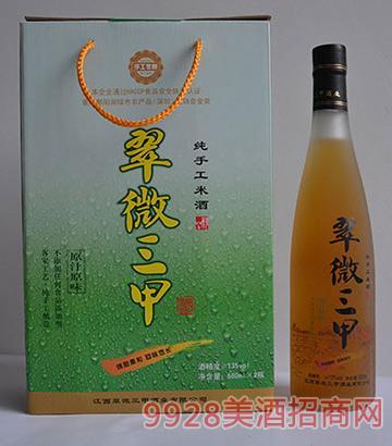 翠微三甲米酒680ml