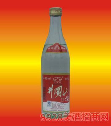 40度井冈山米烧酒480ml