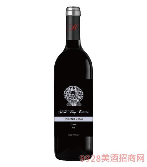 贝壳湾精选干红葡萄酒