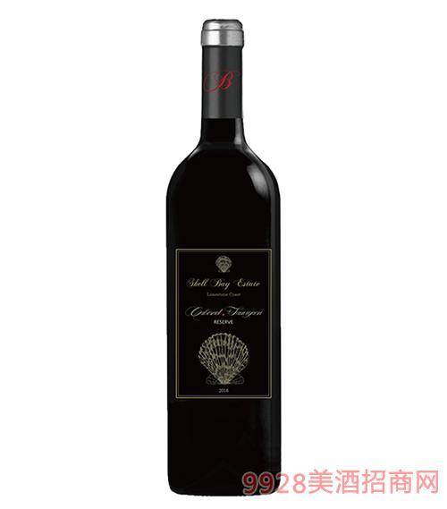 贝壳湾珍藏赤霞珠干红葡萄酒