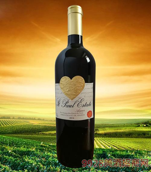 圣堡罗克庄园·挚爱干红葡萄酒
