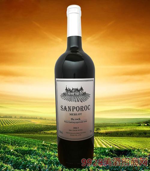 圣堡罗克庄园·银钻干红葡萄酒