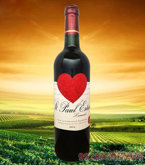 圣堡罗克庄园·情人干红葡萄酒