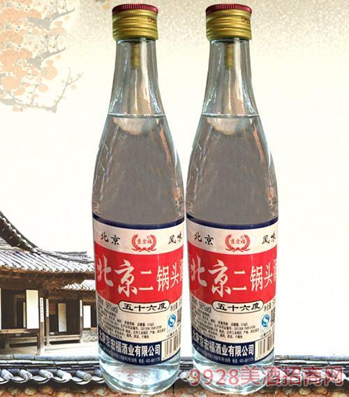 京宏福北京二锅头酒500ml(白)56度