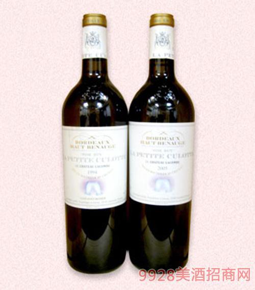 法国利威酒庄之利金比干白葡萄酒