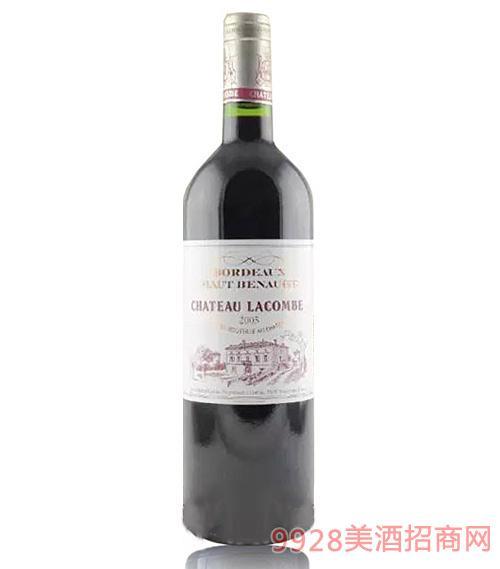 法国利金比红葡萄酒