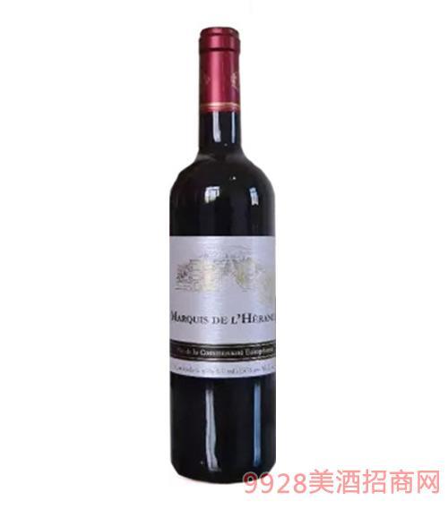 法国侯爵红葡萄酒