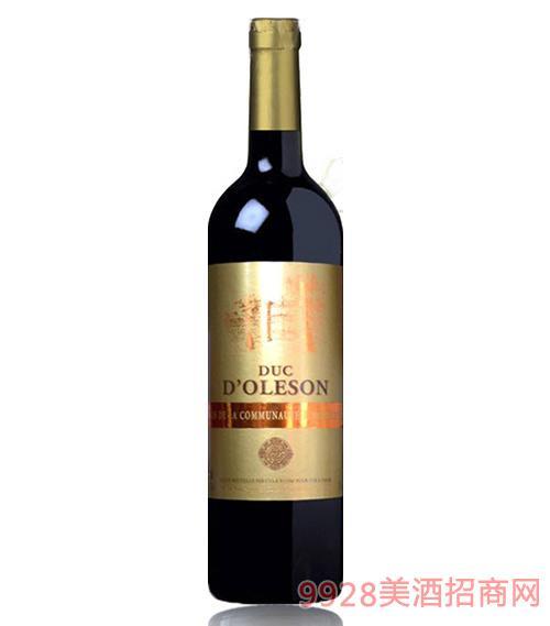 法国奥里让红葡萄酒