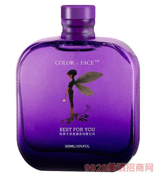 千君渡果酒(紫瓶)