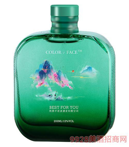 千君渡果酒(绿瓶)
