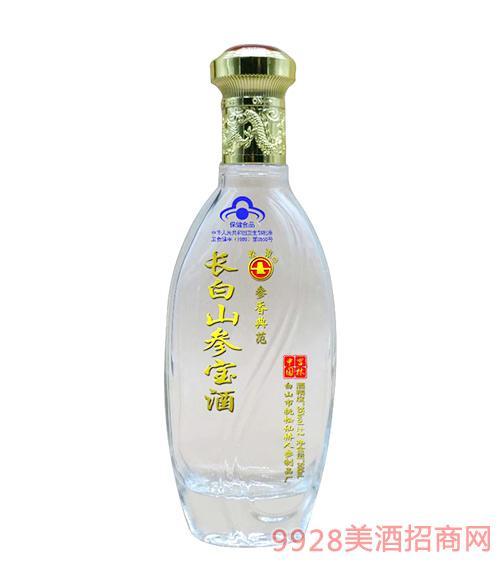 长白山参宝保健酒500ml圆瓶
