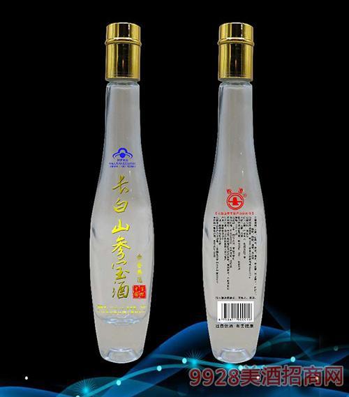 长白山参宝保健酒细长瓶