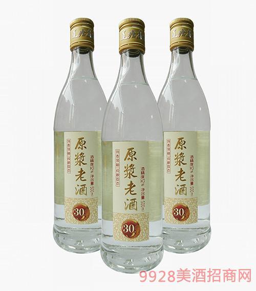 30原浆老酒52度500ml
