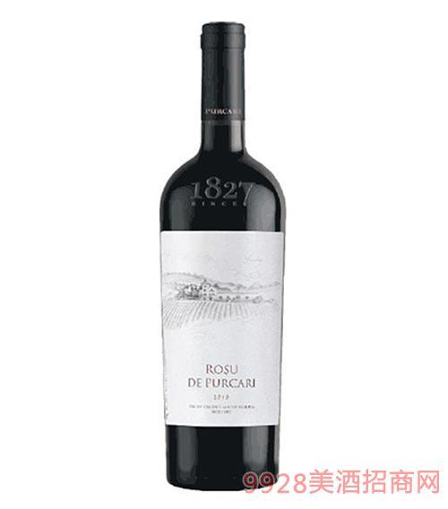 摩尔多瓦普嘉利红宝石干红葡萄酒