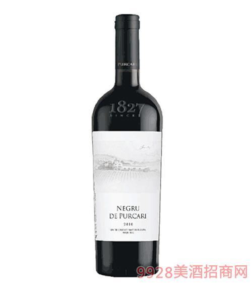 摩尔多瓦普嘉利黑宝石干红葡萄酒