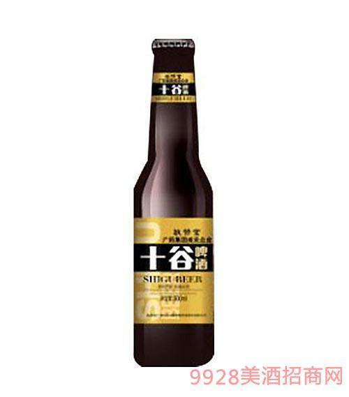 十谷啤酒棕色玻璃瓶