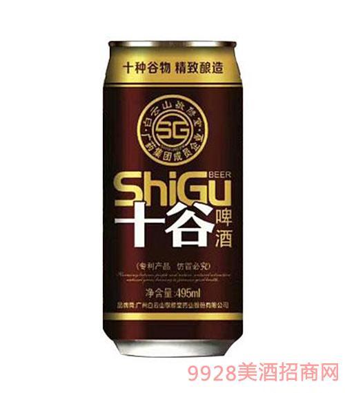 十谷啤酒碱性罐装495ML
