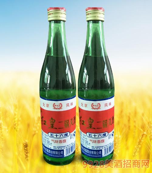 红皇二锅头酒56度500ml