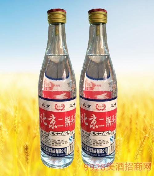 北京二锅头56度500ml白瓶