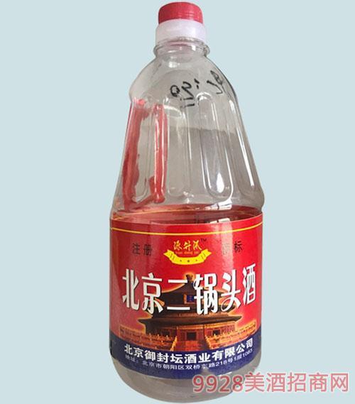 源升沠二锅头酒桶装清香型