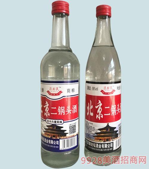 源升沠二锅头酒56度500ml清香型