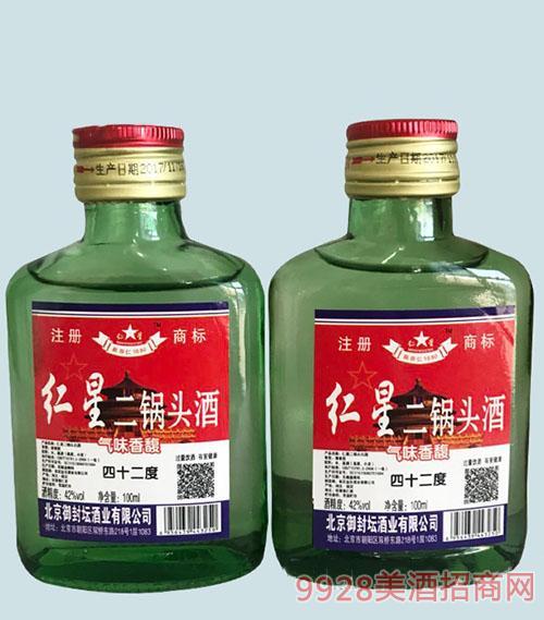 仁星二锅头酒42度100ml清香型