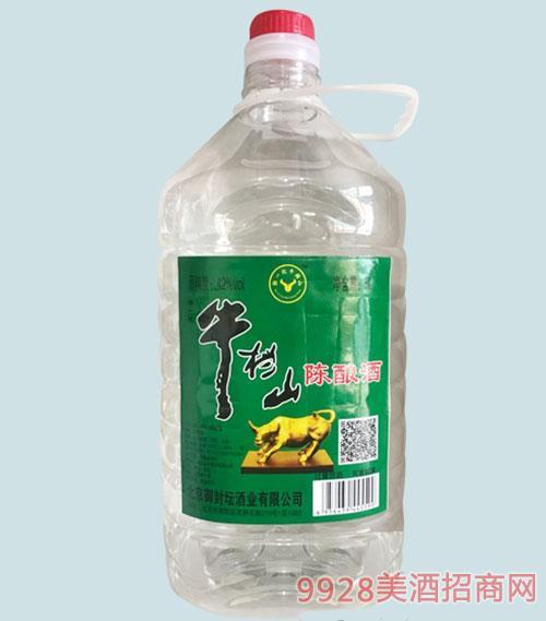 牛挡山陈酿酒42度5L浓香型