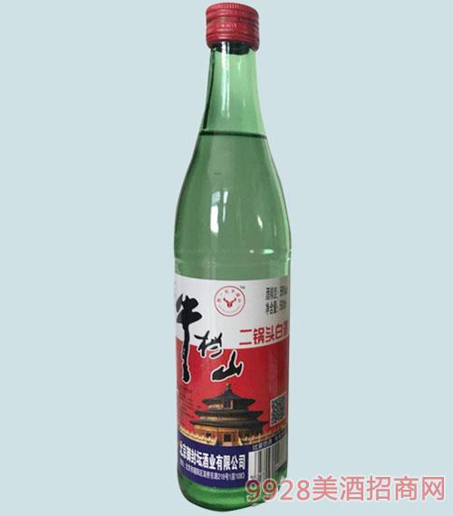 牛挡山二锅头白酒56度500ml清香型