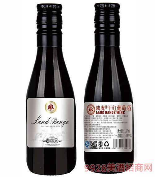 陆虎干红葡萄酒13度187ml