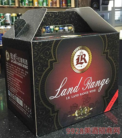 陆虎干红葡萄酒包装