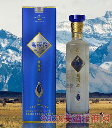 高原羚青稞酒42度750ml