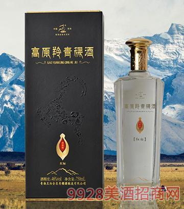 高原羚青稞酒红标46度750ml