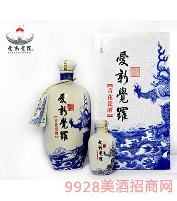 爱新觉罗青花瓷酒42度500ml
