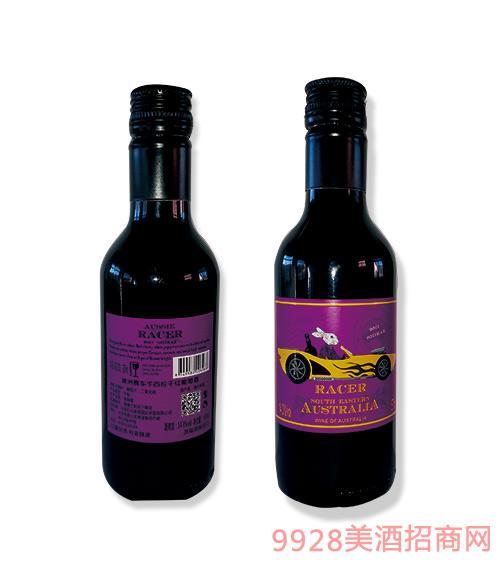 澳洲赛车手西拉干红葡萄酒紫标