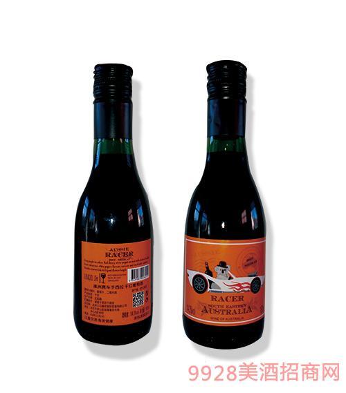 澳洲赛车手西拉干红葡萄酒橙标