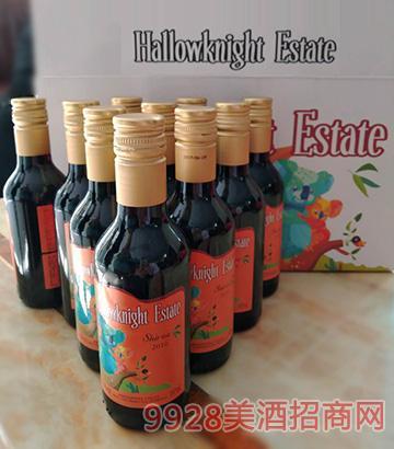 圣骑庄园小熊西拉干红葡萄酒