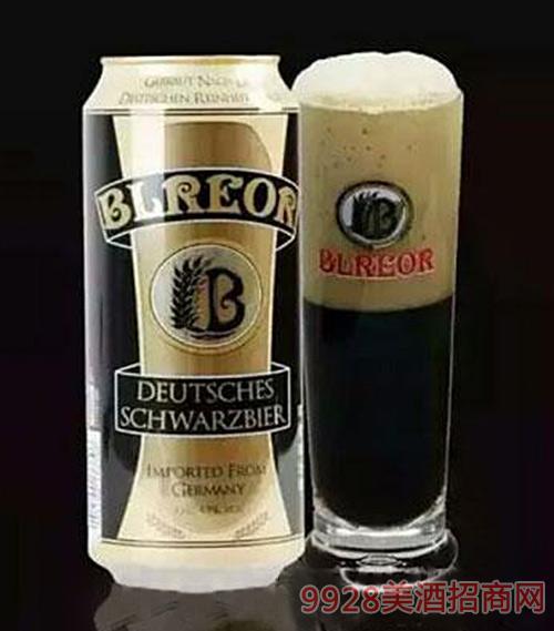 德國彼樂黑啤500ml