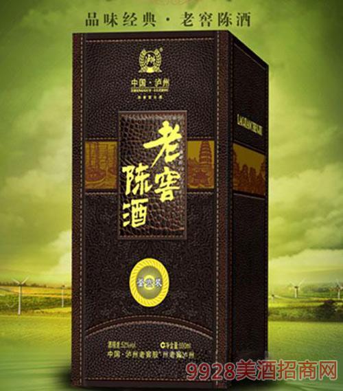 鉴赏装老窖陈酒500ml